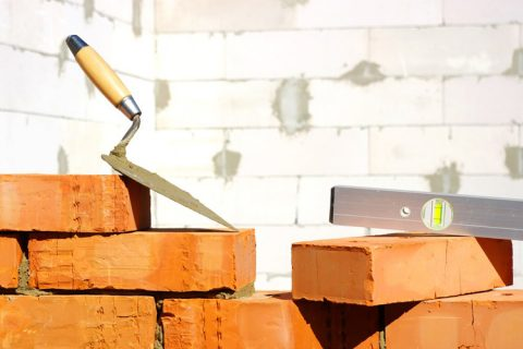 Bricks renovation